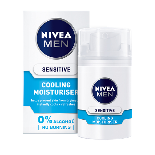 Nivea MEN Sensitive Cooling Moisturizer 50 ml