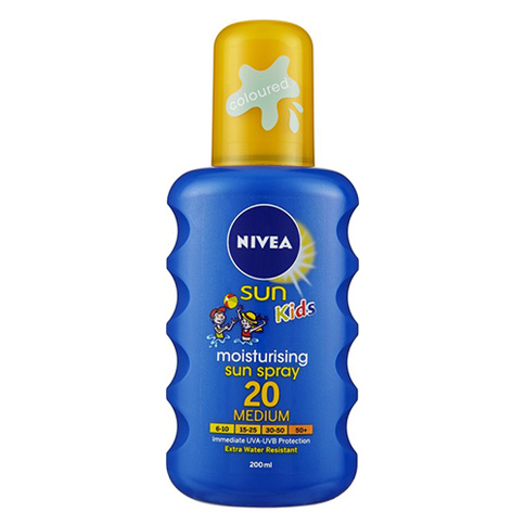 Nivea Kids Caring Sun Spray SPF 20 200 ml