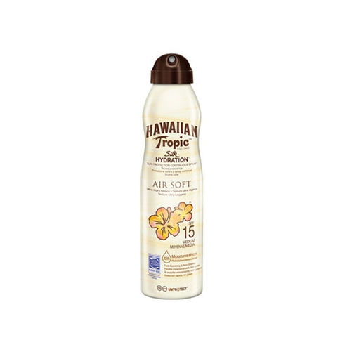 Hawaiian Tropic Silk Hydration Air Soft Continuous Spray Spf15 177 ml