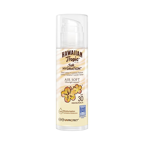 Hawaiian Tropic Silk H Air Soft Pump Sun Lotion SPF 30 150 ml