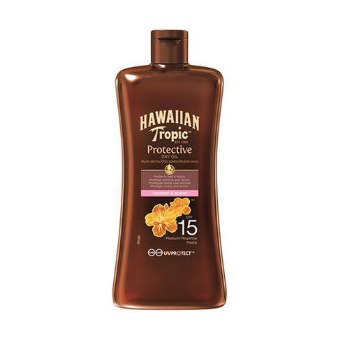 Hawaiian Tropic Protective Dry Oil Coconut And Guava Spf15 100 ml
