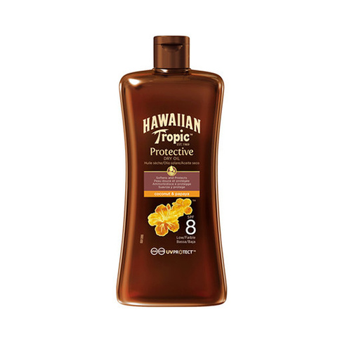 Hawaiian Tropic Protective Dry Oil Coconut And Papaya Spf8 100 ml