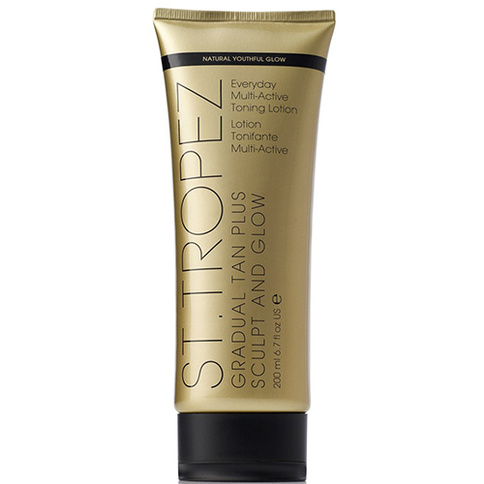 St. Tropez Gradual Tan Plus Sculpt & Glow Toning Lotion 150 ml