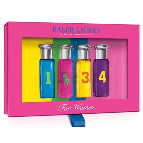 Ralph Lauren Big Pony Women EdT 4X10 ml Xmas 2017