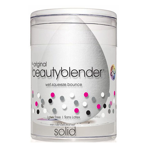 beautyblender original white + mini solid cleanser