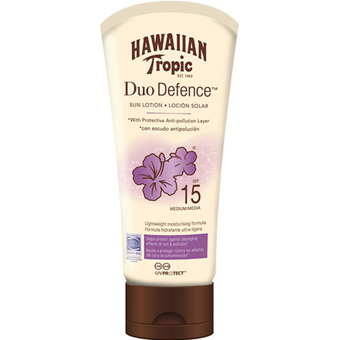 Hawaiian Tropic Duo Defence Sun Lotion 180 ml
