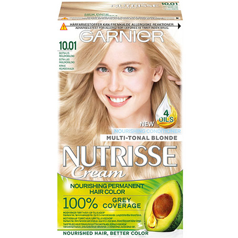 Garnier Nutrisse Cream Extra Light Pearl Blond 10,01