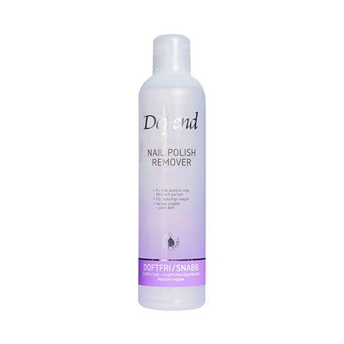 Depend O2 Nagellackremover Lila 250 ml