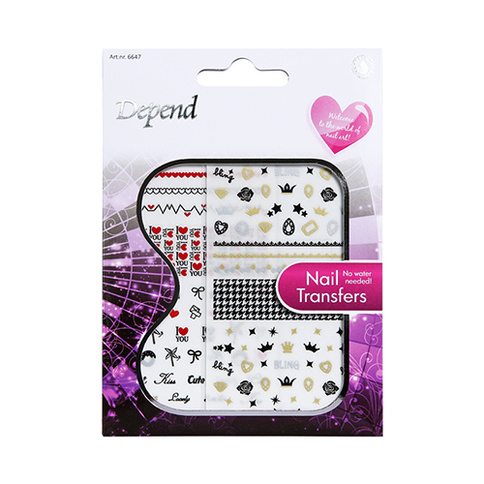 Depend Nail Art Nail Transfers