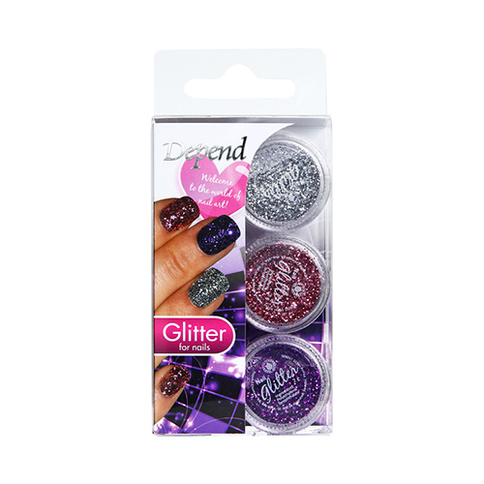 Depend Nail Art Decoration 6641 Glitter