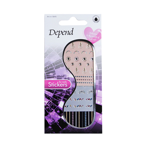 Depend Nail Art 6645 Stickers