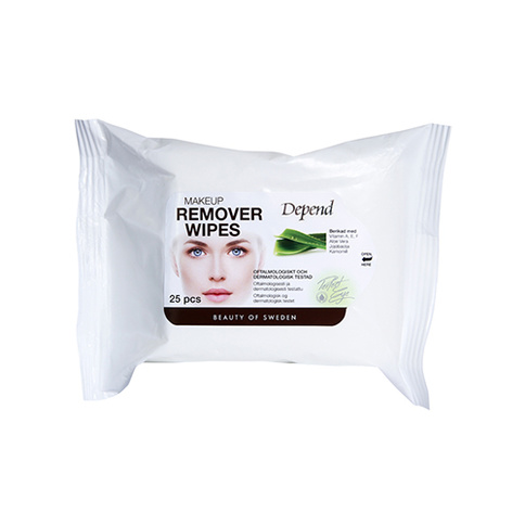 Depend PERFECT EYE Makeup Remover Wipes