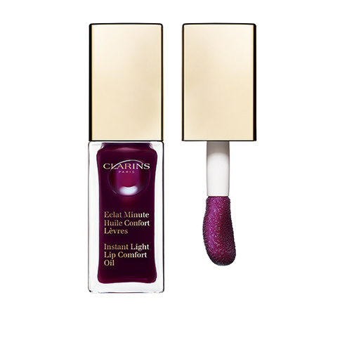Clarins Instant Light Lip Comfort Oil 08 Blackberry