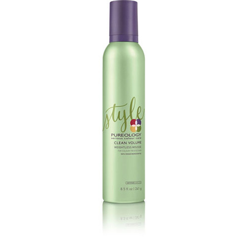 Pureology Clean Volume Weightless Mousse 241 g