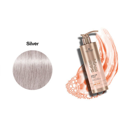 Schwarzkopf Blondme Blush Wash Silver 250 ml