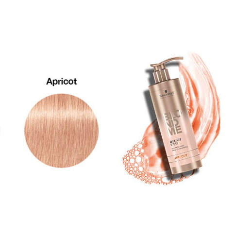 Schwarzkopf Blondme Blush Wash Apricot 250 ml