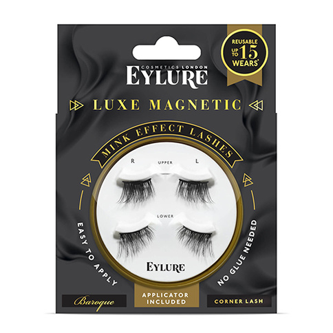 Eylure Luxe Magnetic Lashes Baroque Corner