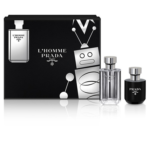 PRADA L´Homme EDT 50 ml med Shower Gel 100 ml Giftset