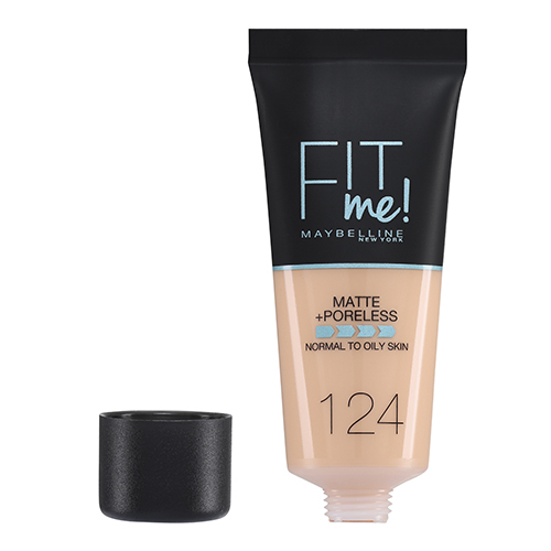 Maybelline Fit Me Matte And Poreless Foundation Soft Sand 124 30 ml
