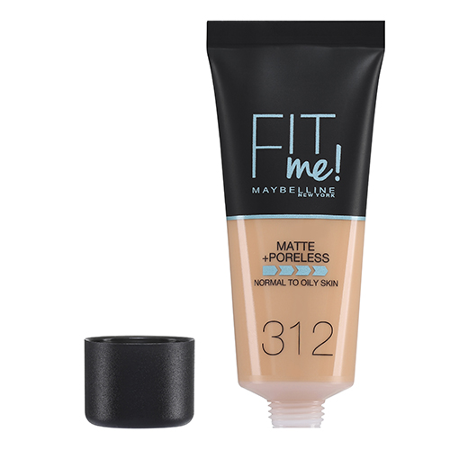 Maybelline Fit Me Matte And Poreless Foundation Golden 312 30 ml
