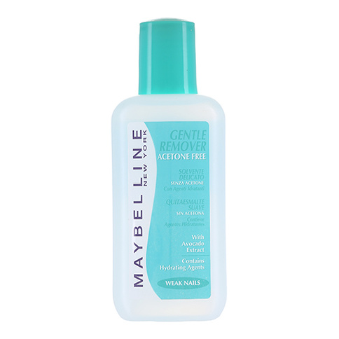Maybelline Color Show Nail Polish Remover 125 ml Weak Nails