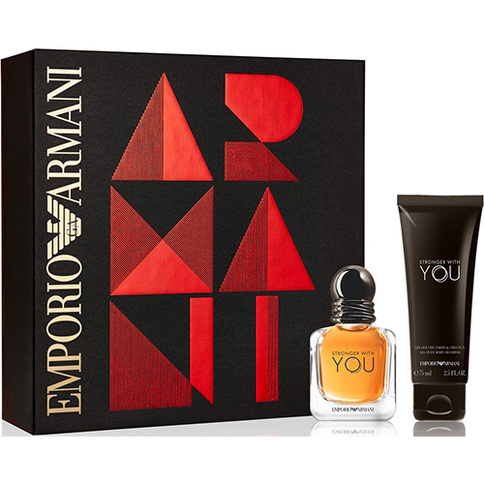 Giorgio Armani Emporio Armani Stronger With YOU HE EdT 30 ml Giftset
