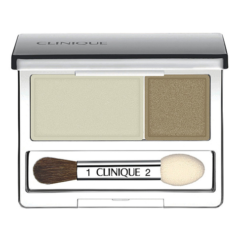 Clinique All About Shadow Duo - Mixed Greens 2.2g