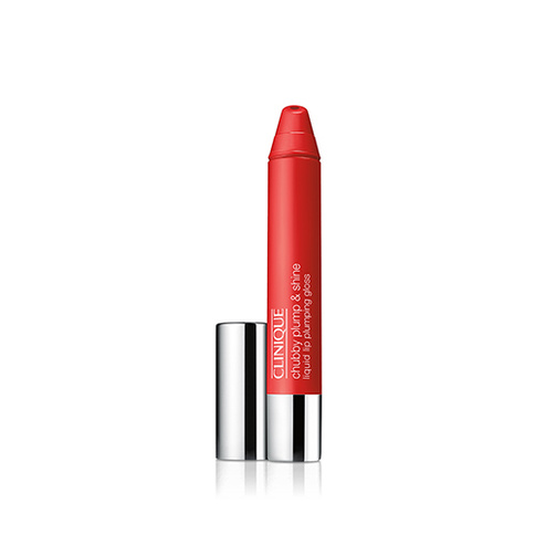 Clinique Chubby Plump & Shine Liquid Lip Plumping Gloss - Super Scarlet 3.9g