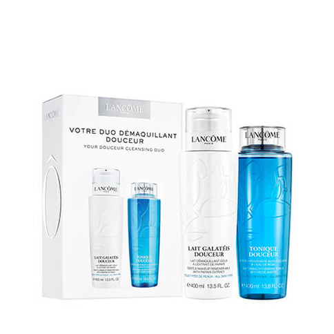 Lancome Jumbo Duo Set Lait Galateis Tonique Douceur 400 ml