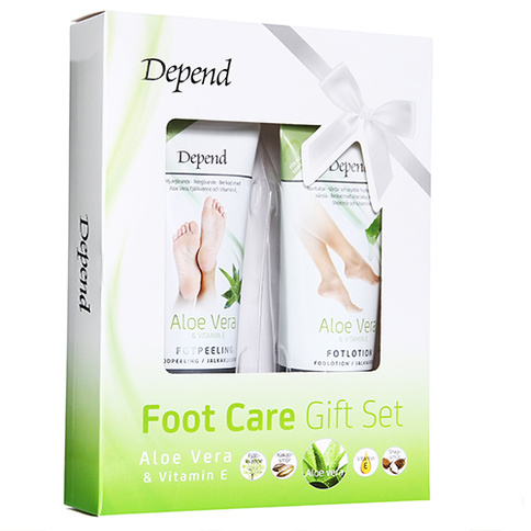 Depend Aloe Vera Foot Care Gift Set