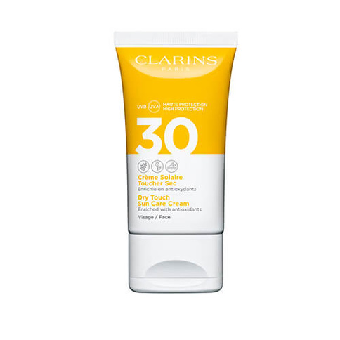Clarins Dry Touch Sun Care Cream Spf 30 Face 50 ml