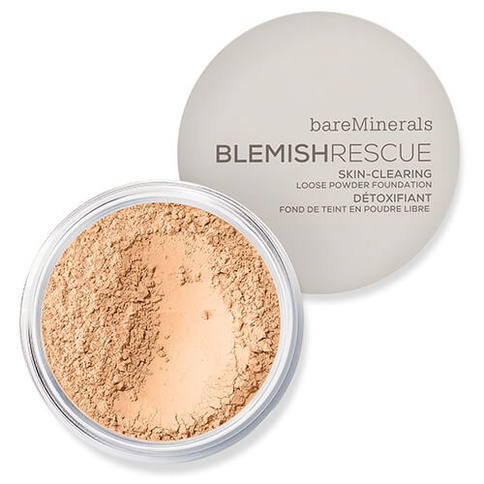 bareMinerals Blemish Rescue Skin-Clearing Loose Powder Foundation 8g Natural Ivo