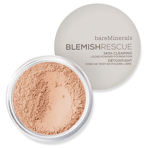 bareMinerals Blemish Rescue Skin-Clearing Loose Powder Foundation 8g Medium 3C