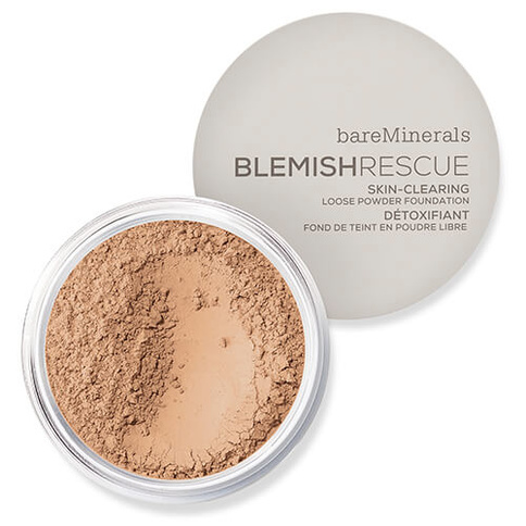 bareMinerals Blemish Rescue Skin-Clearing Loose Powder Foundation 8g Medium Beig
