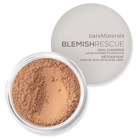 bareMinerals Blemish Rescue Skin-Clearing Loose Powder Foundation 8g Medium Tan