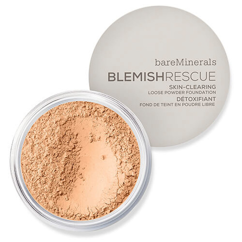bareMinerals Blemish Rescue Skin-Clearing Loose Powder Foundation 8g Golden Nude
