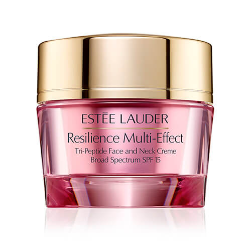 Estee Lauder Resilience Multi-Effect Tri-Peptide Face and Neck Creme Dry SPF 15