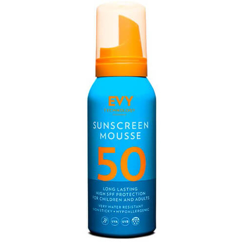 Evy Technology Sunscreen Mousse SPF50 100 ml