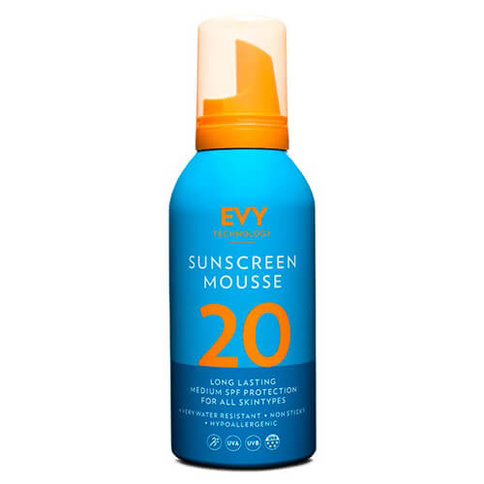 Evy Technology Sunscreen Mousse SPF20 150 ml