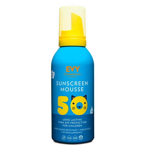 Evy Technology Sunscreen Mousse Kids SPF50