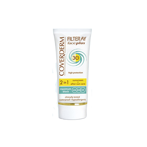 Coverderm Filteray Face Plus SPF 30 Normal Skin 50 ml