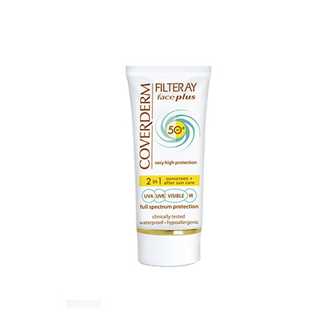 Coverderm Filteray Face Plus SPF 50+ Normal Skin 50 ml