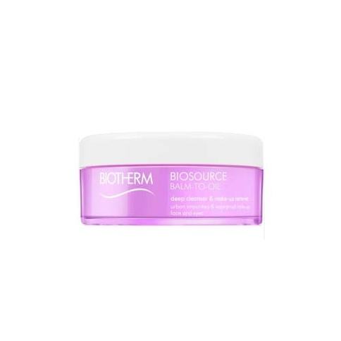 Biotherm Biosource Total Renew Balm-to-Oil Deep Cleanser & Makeup Remover All Skin Types 100 ml