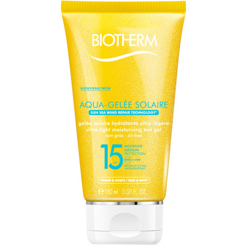 Biotherm Aquagelee Ultra Light Moisturizing Sun Gel SPF15 150 ml