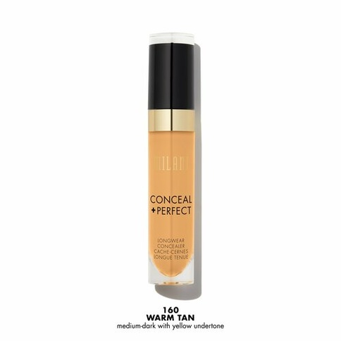 Milani Conceal + Perfect Long-Wear Concealer 160 Warm Tan