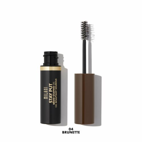 Milani Stay Put Brow Shaping Gel 04 Brunette