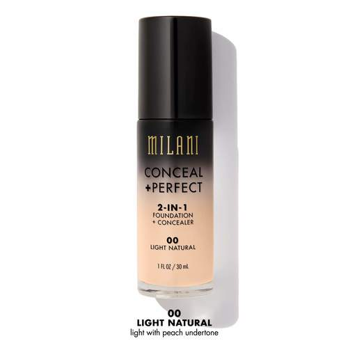 Milani Conceal + Perfect Liquid Foundation 30 ml 00 Light Natural