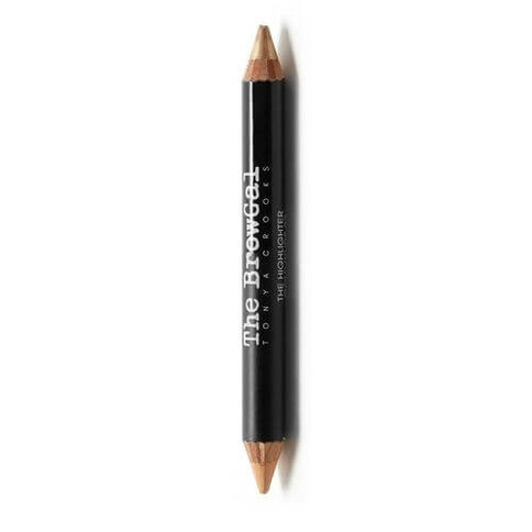 The BrowGal Highlighter/Concealer DUO Pencil 6g 02 Gold/Nude