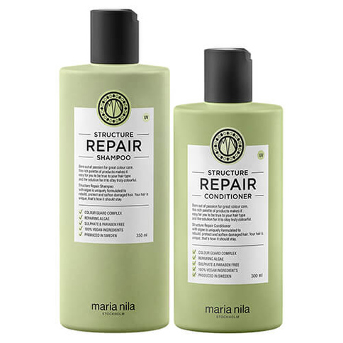 Maria Nila Structure Repair Duo Full Size Start Kit