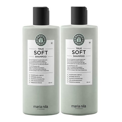 Maria Nila True Soft Shampoo Duo Full Size Kit